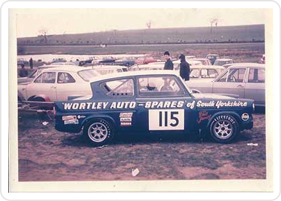 Philip Jarvis & Team Broadspeeds Ford Anglia